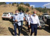 Milletvekilleri deprem bölgesinde incelemelerde bulundu