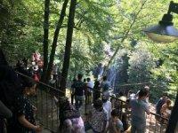 Bayramda mesire alanlarını 25 bin kişi ziyaret etti
