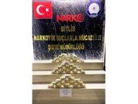 Bitlis'te 24 kilo 200 gram eroin ele geçirildi