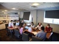 Düzce Üniversitesi YÖK sanal fuarında öğrencilerle buluşuyor