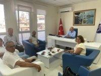 Tunceli Belediye Başkanı Maçoğlu, Başkan Atabay'ı ziyaret etti