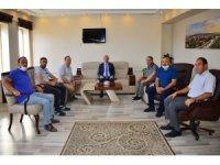 Vali Hüseyin Öner, Ticaret ve Sanayi Odası ile Arıcılar Birliği'ne iade-i ziyarette bulundu
