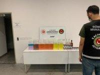 Sarp Sınır Kapısında 53 bin lira değerinde içki ve sigara ele geçirildi