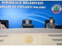 Kırıkkale Belediyesi Ağustos ayı meclis toplantısı gerçekleştirildi