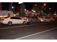 Malatya'da zincirleme trafik kazası: 1 yaralı