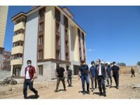 Başkale'de emniyet binası ve polis lojmanları yapılıyor