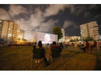 Mezitli'de yazlık sinema günleri başladı
