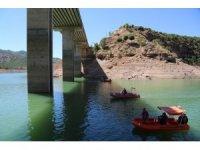 Gülistan için baraj gölü minimum seviyeye düşürüldü, sualtı arama çalışmalarına başlandı