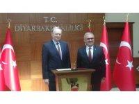 AB Türkiye Delegasyonu Başkanı Berger'den Vali Karaloğlu'na ziyaret