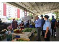 Başkan Tollu, denetimlerde vatandaşları tedbirler konusunda uyardı