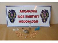 Akçakoca'da uyuşturucu operasyonu: 1 gözaltı