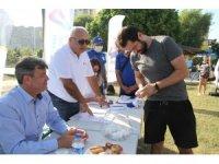 Mersin'de yazlık siteler arası plaj voleybol turnuvasının kuraları çekildi