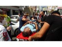 Antalya'da motosiklet otomobille çarpıştı: 1 yaralı