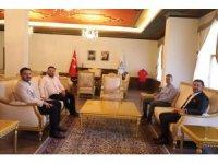 AK Parti Genel Sekreteri Şahin'den Belediye Başkanı Arı'ya ziyaret