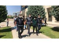 Konya'daki kuyumcu soygununun şüphelileri adliyeye sevk edildi