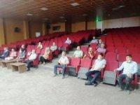 """Hisarcık'ta """"Resmi Yazışma Kuralları"""" semineri"""