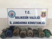 Bandırma'da motor hırsızlığı