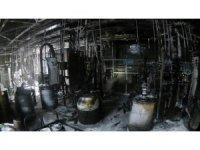 Toyota Fabrikasında çıkan yangında 2 işçi yaralandı