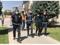Konya'daki kuyumcu soygununun zanlıları tutuklandı