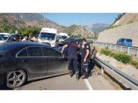 Amasya'da iki otomobil çarpıştı: 7 yaralı