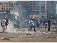 Beyrut'taki protestolarda 142 kişi yaralandı