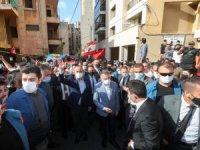 Cumhurbaşkanı Yardımcısı Oktay ve Dışişleri Bakanı Çavuşoğlu, Beyrut'ta Türklerin yaşadığı mahalleyi ziyaret etti