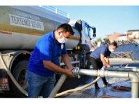 Ekipler, su sıkıntısı yaşanmaması adına görev başında
