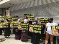 Esenyurt'ta kuyumcu mağdurları bir kez daha eylem yaptı