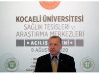 Cumhurbaşkanı Erdoğan'dan 147 milyonluk açılışta kritik uyarı