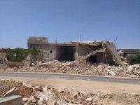 Esad rejimi İdlib kırsalını vurdu: 7 yaralı
