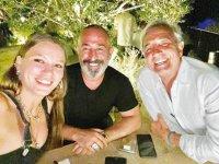 Serenay Sarıkaya ve Cem Yılmaz, Bodrum'da tatil yapıyor