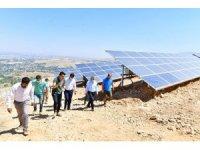 Yeşilyurt 1. Güneş Enerji Santrali'nde enerji üretimi başladı
