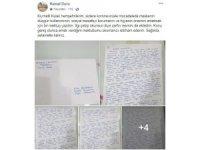 Kaymakam Duru mektup yazarak uyardı