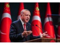 """Cumhurbaşkanı Erdoğan: """"Türkiye bu suni rüzgarlarla eğilip bükülebilecek bir ülke değildir"""""""