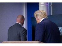 Trump, basın toplantısını yarıda kesti