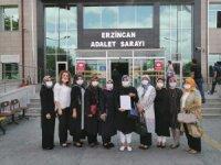 Erzincan'da AK Partili kadınlar, Dilipak hakkında suç duyurusunda bulundu