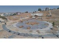 Şehit Savcı Mehmet Selim Kiraz'ın ismini taşıyan parkta yapım çalışmaları devam ediyor