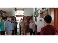 Kemaliye'de maske ve sosyal mesafe denetimi