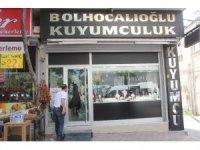 Adana'da film gibi kuyumcu soygunu
