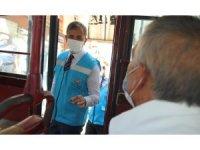 Pilot il Kırıkkale'de vatandaşların yüzde 98'i maske kullanıyor