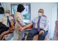 Adalet Bakanı Gül'den kan bağışı kampanyasına destek