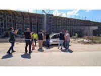 Kuzey Marmara otoyolu inşaat alanında şüpheli araç paniği