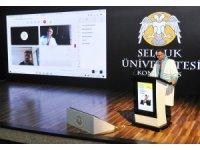 Selçuk Üniversitesi 45. yıl mezunlarını verdi