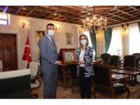 Vali Becel, Ürgüp Belediyesini ziyaret etti