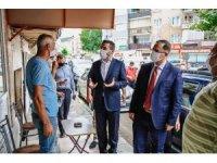 Kestel Belediye Başkanı Tanır'dan korona virüs denetimi
