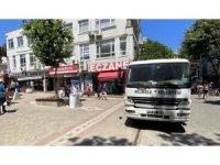 CHP'li belediyeden AK Parti'ye sabote