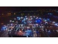 Tokat'ta arabalı sinemaya yoğun ilgi