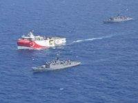 MTA Oruç Reis gemisi, Yunanistan'ı harekete geçirdi