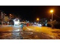 Kuşadası Belediyesi korona virüsle mücadeleye ara vermiyor