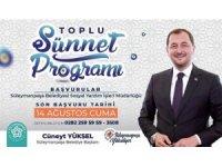 Süleymanpaşa Belediyesi'nden toplu sünnet programı